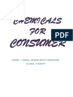 Chemicals for Consumer