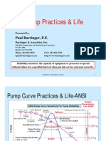 Pump Practices & Life