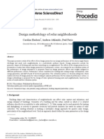 Design Methodology of Solar Neighborhoods