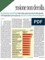 Il Fondo Pensione Non Decolla