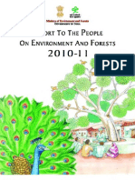 Report to the People on Environment and Forests 2010 11