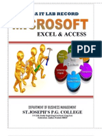 It Record-mba Ist Year (Students Reference Copy)