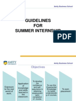 4d512summer Intern GUIDELINES