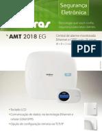 Catalogo AMT 2018 EG Central de Alarme Monitorada Com 18 Zonas 8 8 2 Com Fio 24 Sem Fio