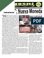 Kgosni 128-Itacate, Nueva Moneda