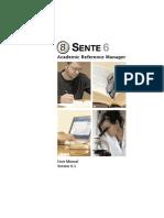 Manual Sente-6.5