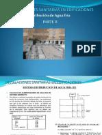 Sistema de Distribucion de Agua Fria II