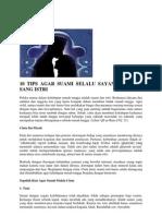 10 TIPS AGAR SUAMI SELALU SAYANG DENGAN SANG.docx