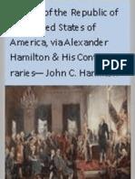 History of the Republic of the United States of America VOL 3 - John C Hamilton 1857