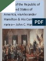 History of the Republic of the United States of America VOL 6 - John C Hamilton 1857