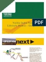 Vatika Lifestyle Home Gurgaon
