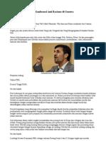 Pidato Ahmadinejad Di Konferensi Anti Rasisme Di Genewa