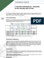 En 439 Guide for en 439 Shielding Gases