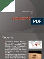 conceptos epidemia, endemia