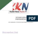 Kuliah Kerja Nyata Universitas Jember