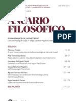 Artículo Anuario Filosófico II