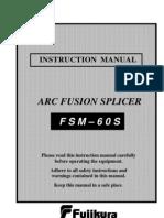 Fuikura 60S Manual