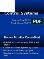 Lecture 1 Control systems
