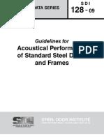SDI_128 - Standard Steel Doors and Frames