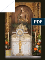 REPORTAJE FOTOGRÁFICO CORPUS CHRISTI 2013 EN LA IGLESIA DEL SALVADOR. TOLEDO. FORMA EXTRAORDINARIA DEL RITO ROMANO