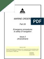Emergency Procedures & Safety of Navigation