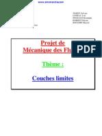 0 Projet de Mecanique Des Fluides Couche Limite