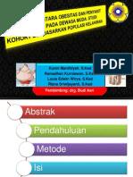 Hubungan Antara Obesitas Dan Penyakit Periodontal Pada Dewasa