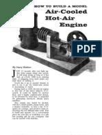 Air Cooled Hot Air Engine