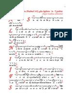Antifonul Al Doilea (Psalmul 145)