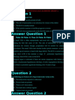 Pediatric Questions and Answersgroup 2