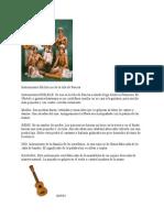 Instrumentos folclóricos de la Isla de Pascua