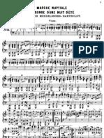 Marche Nuptiale Piano