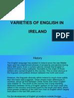 Varieties of English- Ireland