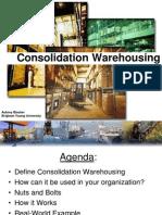 Consolidation Warehousing