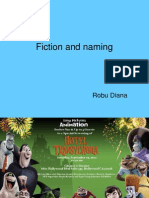 Fiction and Naming- Hotel Transilvania