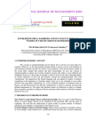 Entrepreneurial Barriers and Success Factors of Women in Utility