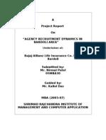 Agency Recruitment Dynamics In