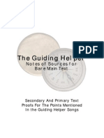 Guiding Helper - Sources for Lyrics