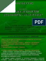Note de Curs Analiza Activitatii Economic Financiare