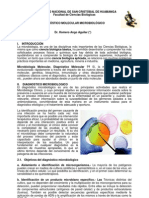 TÉCNICAS DE DIAGNÓSTICO MOLECULAR MICROBIOLÓGICO 2013