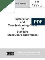 SDI_122 - Standard Steel Doors and Frames