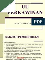 Hukum Islam - UU Perkawinan