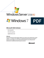 iSCSI Initiator User's Guide for Windows 7