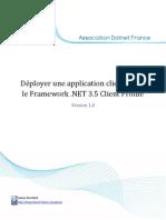 Déployer une application cliente avec le Framework .NET 3.5 Client Profile.pdf