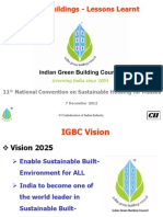 Green Buildings Lessons  IGBC