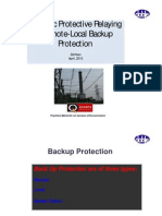 Local Remote Backup Line Protection