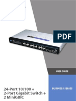 Cisco Switch Sr224g