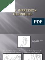 Final Impressions