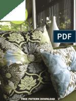 Hourglass Pillow Free Pattern
