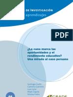 Educación, el caso peruano
